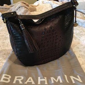 Brahmin Kathleen Hobo Cocoa EUC ✨